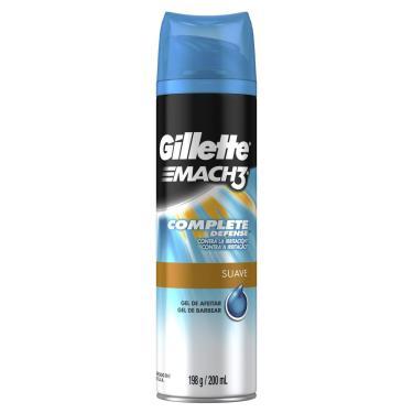 Gel de Barbear Gillette Mach3 Complete Defense 198g