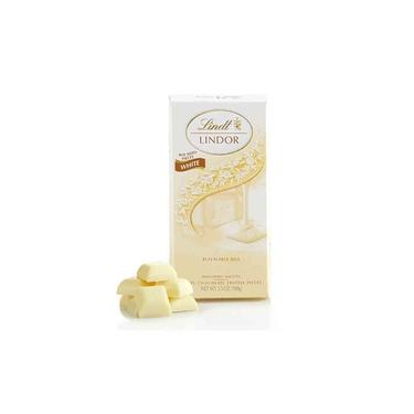Chocolate Lindt Lindor White Branco Cremoso 100 Gr