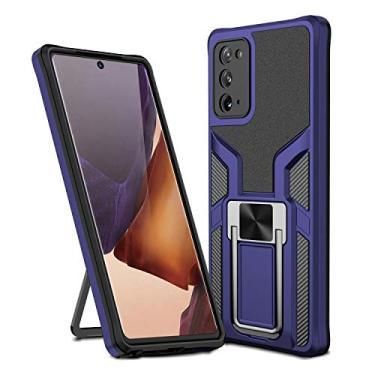 SHUNDA Capa para Samsung Galaxy Note 20, suporte magnético para carro, capa protetora à prova de choque para Samsung Galaxy Note 20 de 6,5 polegadas - azul