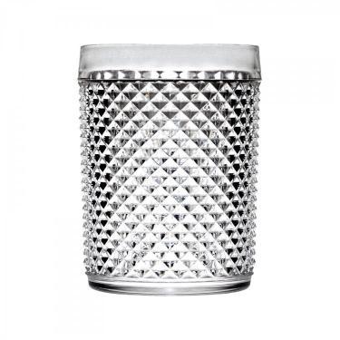 89b4cc8be84 Jogo de Copos para Whisky de Acrílico 6 Peças 420ml Bon Bourmet Rojemac  Transparente