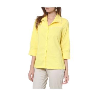 5205f9c426 Camisa Moché C Frizzo 3 4 - Feminino