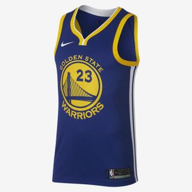 Regata Nike Golden State Warriors Icon Edition Swingman Masculina 51b5ab67e79