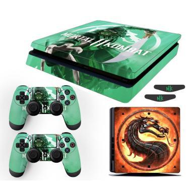 Skin Ps4 Slim Reptile Mortal Kombat 11