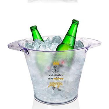 Imagem de Balde de Gelo Personalizado Dia dos Pais Tema Cerveja