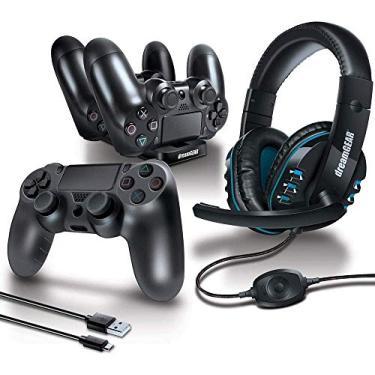 Dreamgear Dgps4-6436 Kit De Acessórios Gamer Advanced Com 6 Peças Para Playstation 4, Dreamgear, Preto - Android