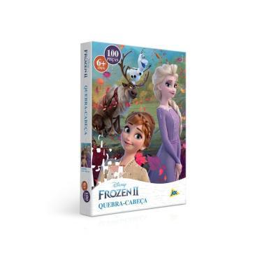 Imagem de Quebra-Cabeça Puzzle 100 Peças - Frozen II - Toyster