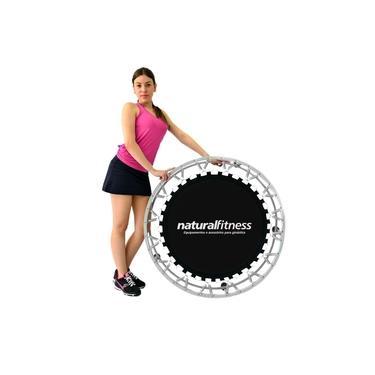 Cama Elástica Mini Jump Profissional 32 Molas Natural Fitness