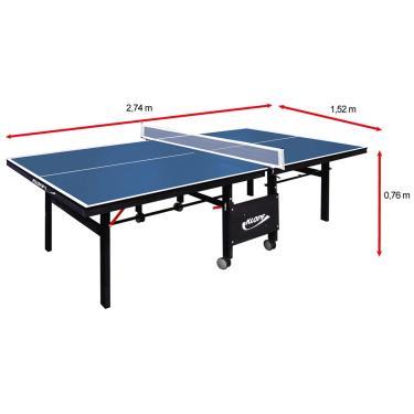 Mesa de Ping Pong / Tênis de Mesa Klopf - 18 mm - Unissex