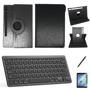Kit Capa/Teclado/Can/Pel Galaxy Tab S7 T870/T875 11' Preto