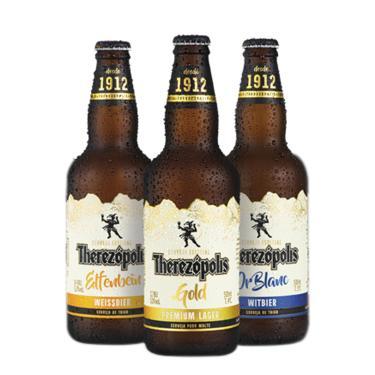 Cerveja Therezópolis Com Caixa De Presente - Kit 3 Cervejas
