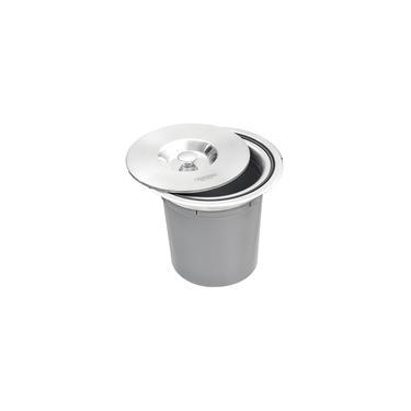 Lixeira Tramontina Clean Round De Embutir 5l Redonda Inox