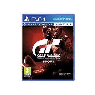 Jogo PS4 - Gran Turismo Sport