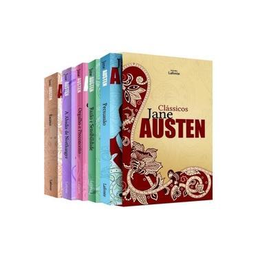 Box - Clássicos Jane Austen - 5 Volumes - Austen,jane - 7897763479449