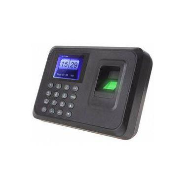 Relógio Ponto Biométrico Digital Português Usb Para Funcionario Bivolt