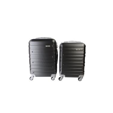 Conjunto de 2 Malas de Viagem ABS C/ Roda 360 Preto P PP Yin's YS21062