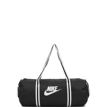Bolsa Nike Sportswear Heritage Duff Preta Nike Sportswear BA6147-010 unissex