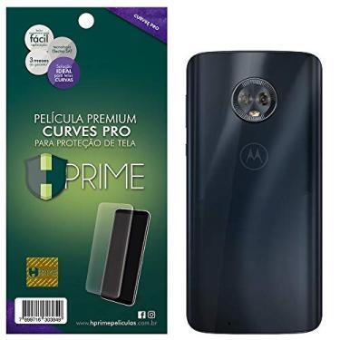Pelicula HPrime Curves Pro para Motorola Moto G6 - VERSO, Hprime, Película Protetora de Tela para Celular, Transparente
