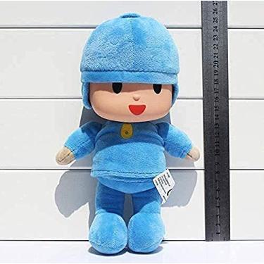 Imagem de Brinquedos de pelúcia LFSLAS Pocoyo Elly Elefantes Pelúcia Pato Pato Brinquedos de Pelúcia 1 pç 27 cm