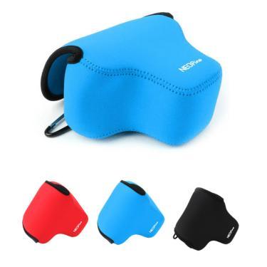 Capa protetora para câmera de neoprene, portátil, macia, para leica q typ116, leica q2, capa