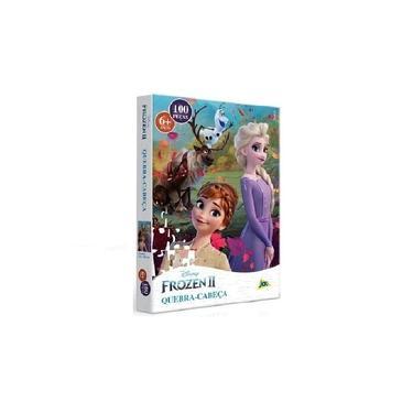 Imagem de Quebra-Cabeça Puzzle 100 Peças Frozen 2 - Toyster