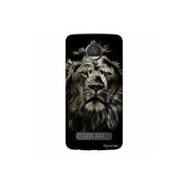 Capa Personalizada Para Motorola Moto Z2 Play Xt1710 Leão - Pe08