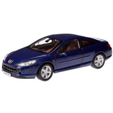 Imagem de 2005 Peugeot 407 Coupe Blue 1/18 Diecast Model Car by Norev