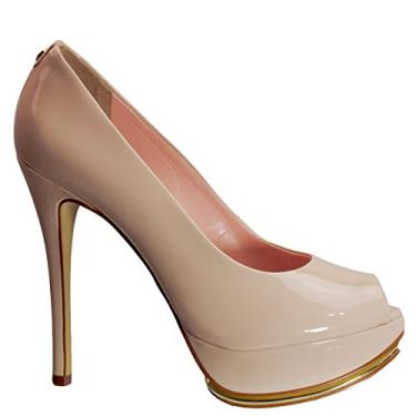 232550a85f Sapato Peep Toe Jorge Bischoff J30022001 E05