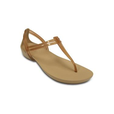 Imagem de Crocs - 202467 - Crocs Isabella T-Strap Bronze