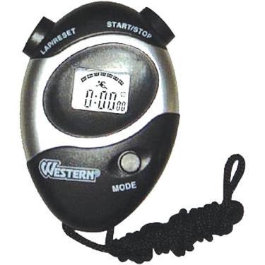 Cronometro progressivo de mão digital e alarme para esporte