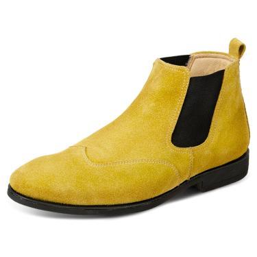 Bota Sandro Moscoloni Classic Chelsea Amarela  masculino