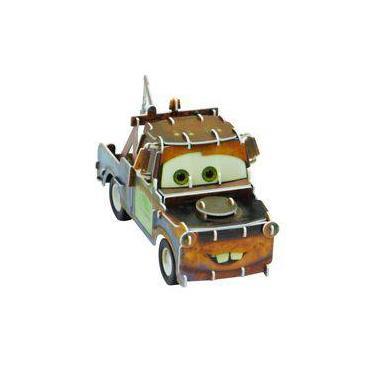Imagem de Quebra-Cabeça 3D Disney Carros Mate - DTC 3806