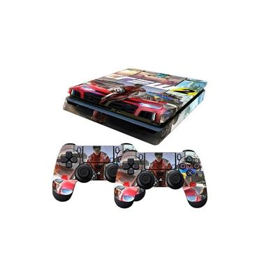 Skin PS4 Slim The Crew 2