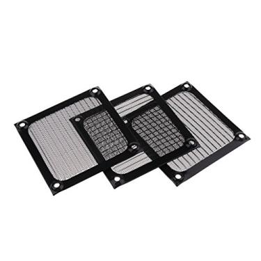 gazechimp 3x PC Cooler 80mm Dustproof Case Fan Dust Filter Protector Grill Protector Cover