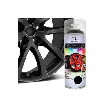 Spray Envelopamento Liquido Preto Fosco 400ml Multilaser Au420