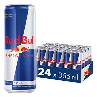 Energético Red Bull Energy Drink Pack com 24 Latas de 355ml