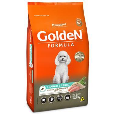 Ração Golden Formula Cães Adultos Raças Pequenas Frango E Arroz Mini Bits 10,1Kg