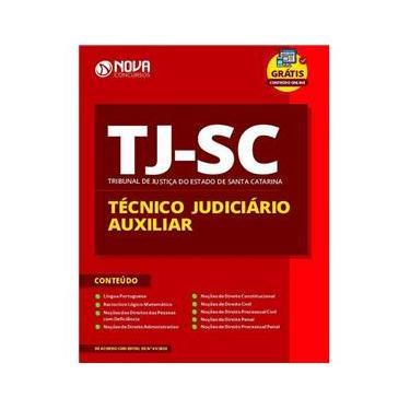 Imagem de Apostila TJ SC - Técnico Judiciário Auxiliar Santa Catarina