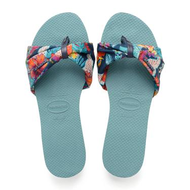 Sandálias Havaianas You St. Tropez Azul  feminino