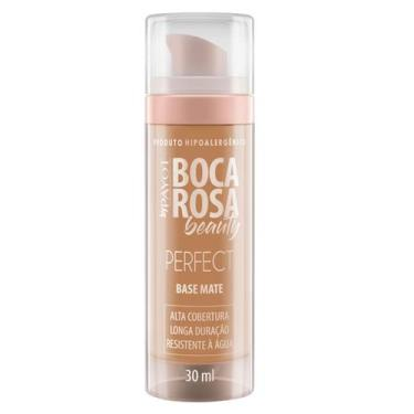 Imagem de Base Matte Hd Boca Rosa Beauty By Payot 3 - Francisca