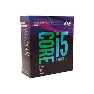 Processador Intel Core i5-8400 8ª Geração Cache 9mb, 2.8ghz (4.0ghz Turbo) Lga 1151 Intel UHD Graphics 630
