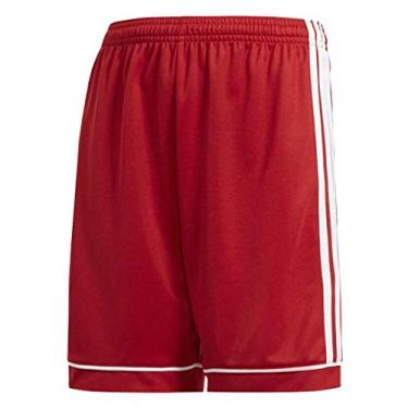 Shorts Adidas Youth Futebol Esquadra 17, Power Red/White, X-Small