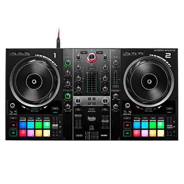 Controladora DJ Hercules DJControl Inpulse 500 Preta 4780909