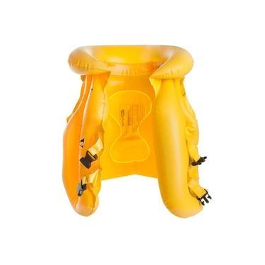 Imagem de Colete Inflável Nautika Safe Infantil Amarelo com Engate Rápido