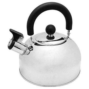 Imagem de Chaleira Com Apito Em Aço Inox E Alça Termica 2 Litros cozinha casa