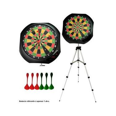 Jogo de Dardos Magnéticos com Alvo Digital e Tripé - MOR 009179