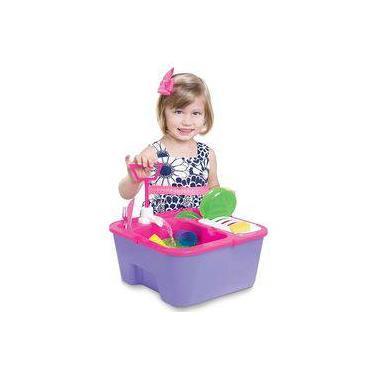 Imagem de Brinquedo Pia Lava louças Infantil Splash e Clean