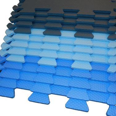Kit 12 Tapetes Eva 50X50cm 10mm Cores Masculinas - Magazine ribeiro