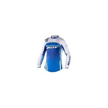 Camisa Jett Armage Azul - Branco P