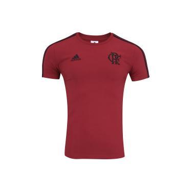 Camiseta do Flamengo 3S 2018 adidas - Masculina - Vermelho Preto adidas b6913e91c766b