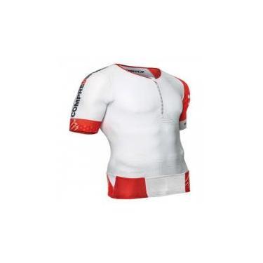 Camisa de Triathlon TR3 Branca XL - P - Compressport